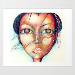 Madame Butterfly Art Print