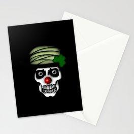 Irish Clown Skeleton Stationery Cards