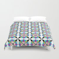 morocco Duvet Covers featuring MOROCCO STARS by Heaven7