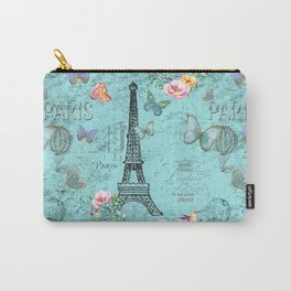Paris - my blue love Carry-All Pouch