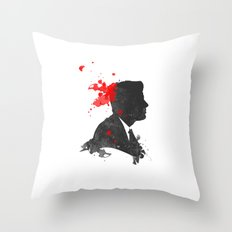 The Assassination of John F. Kennedy Throw Pillow