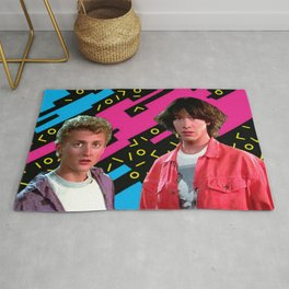 Bill and Ted x Rug
