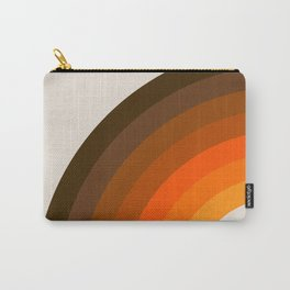 Retro Golden Rainbow - Left Side Carry-All Pouch