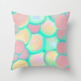 Tutto Bene Blue Throw Pillow