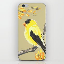 Yellow Finch iPhone Skin