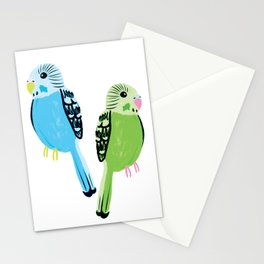 Pretty Parakeets Stationery Cards