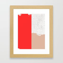 Mid Sun Framed Art Print