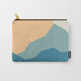 Mountains print.  landscape prints. Original illustration. Printed on archival paper with archival i Carry-All Pouch