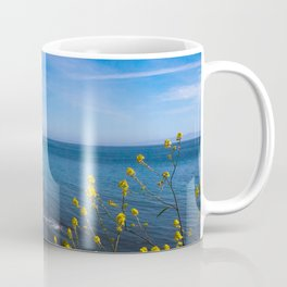 Blooming Flowers on the Pacific Coast Coffee Mug