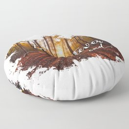 to whatever end Floor Pillow