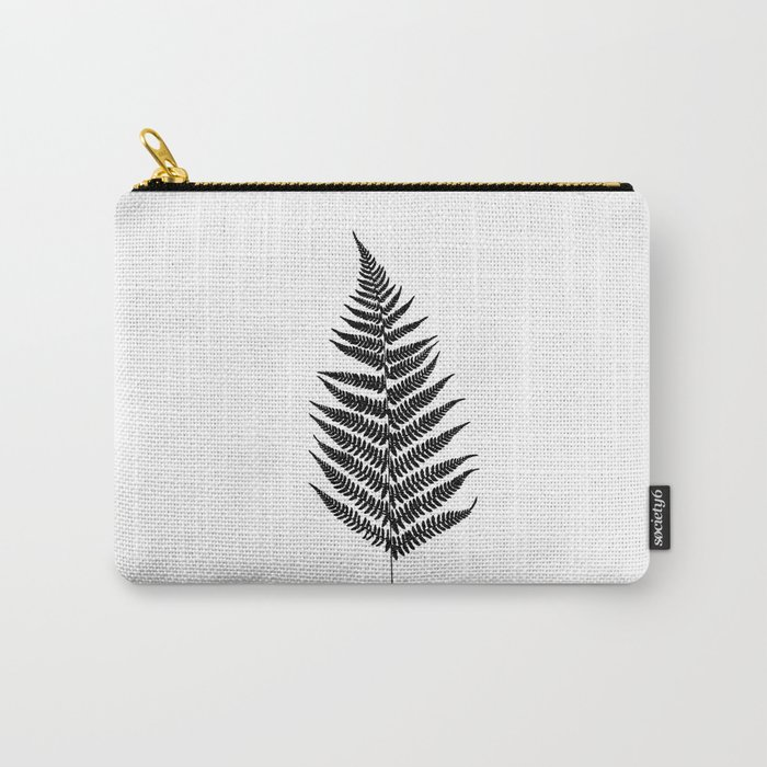 Fern silhouette Carry-All Pouch