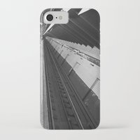subway iPhone & iPod Cases featuring Subway by Laura Gomez