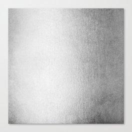 Moonlight Silver Canvas Print