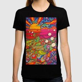 Psychadelic Illustration T-shirt