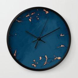 2020 Fall/Winter 17 Navy Wall Clock