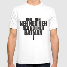 The Bat's Song Mens Fitted Tee MEDIUM White