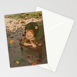 La rivière aux tortues Stationery Cards