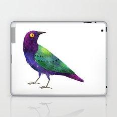Purple Glossy Starling Laptop & iPad Skin