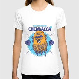 Hipster Chewie T-shirt