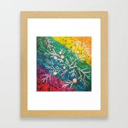 Leaves on the World Tree: Brahui Juniper Framed Art Print