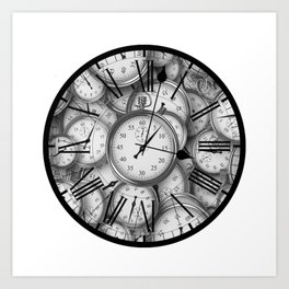 Time Inside of Time Art Print