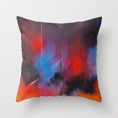 Drip control Throw Pillow