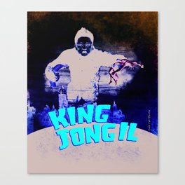 King Jong Il Canvas Print