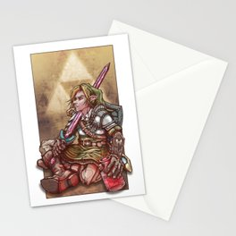 Soul of a Hero - Green Tunic Stationery Cards