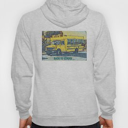 Back to School - The Yellow School Bus Hoody
