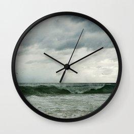 The Emerald Coast Wall Clock