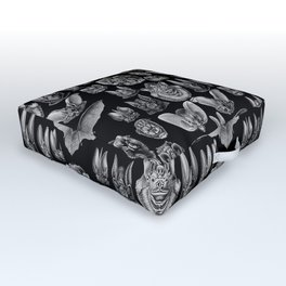 1904 Haeckel Chiroptera Outdoor Floor Cushion