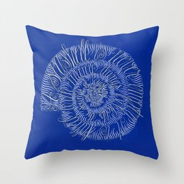 A Seashell is Never Empty... Throw Pillow