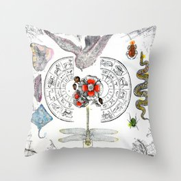 The Dream at the Center of the World Throw Pillow