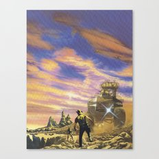 The Wild West Guide To The Galaxy # 113 Canvas Print