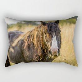 Autumn Horse Rectangular Pillow