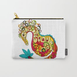 Candy Sea Horse Carry-All Pouch