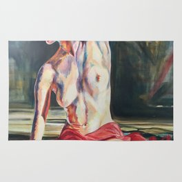 Nude Dancer Rug