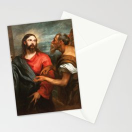 Anthony van Dyck - Christ of the Coin Stationery Cards