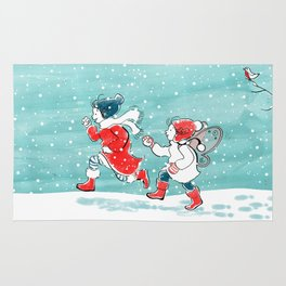 Let it Snow! Rug