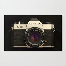 Pentax K-1000 Canvas Print