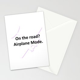 OTR: Airplane Mode Stationery Cards
