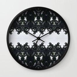 Tiles & Motifs - Nature's Lace Wall Clock