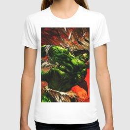 Rampage green full power T-shirt