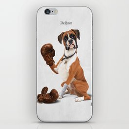 The Boxer iPhone Skin