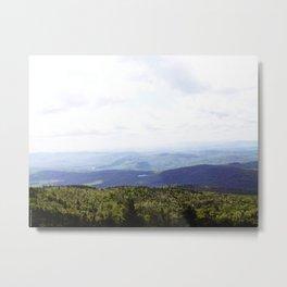 Summer Mountains Metal Print