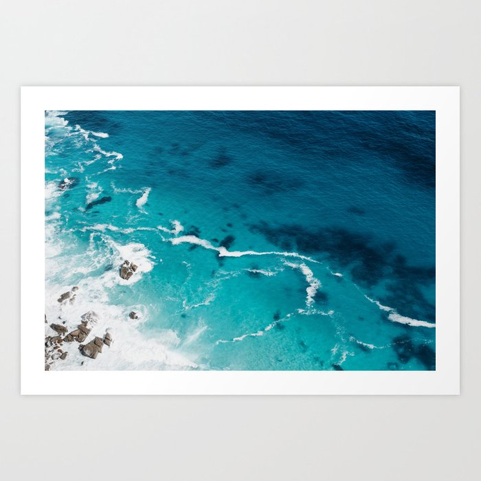 Cape Point, South Africa #society6 #decor #buyart Art Print