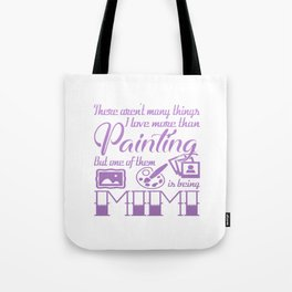 Painting Mimi Tote Bag