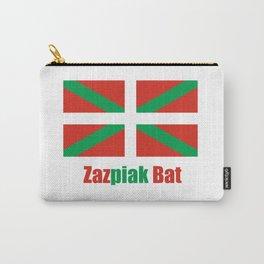 Flag of Euskal Herria 6 -Basque,Pays basque,Vasconia,pais vasco,Bayonne,Dax,Navarre,Bilbao,Pelote,sp Carry-All Pouch