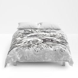Skull Pile Comforters