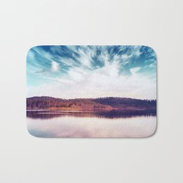 When the Sky Touched the Earth Bath Mat